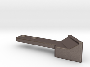 Thumb Rest SigSauer X-series in Polished Bronzed Silver Steel