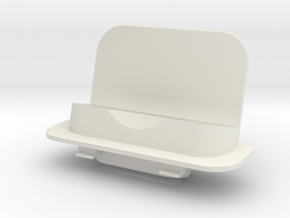 iPhone 5/5s/6 Lightning Adapter + 3.5mm and 3.0mm in White Natural Versatile Plastic