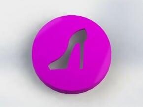 Stiletto Ear Bud Cover for GLASS in Purple Processed Versatile Plastic
