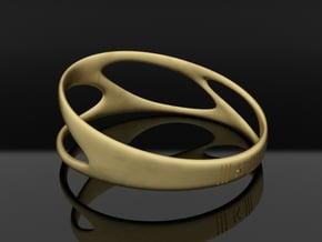bracelet ||| K ||| SERIES in Natural Brass