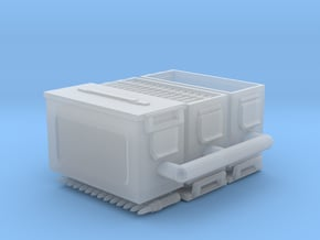 1/16 50 cal' ammo boxes. in Smooth Fine Detail Plastic