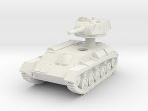 1/87 (HO) T-80 light tank in White Natural Versatile Plastic