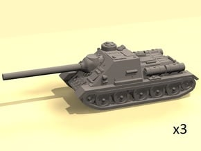 1/160 SU-100 tank hunter in Smooth Fine Detail Plastic