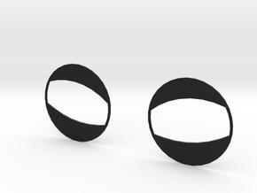 Half Open - For Spiderman Homecoming Goggles in Black Natural Versatile Plastic