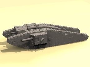 1/144 Mk.IV Male Tadpole tank in White Processed Versatile Plastic