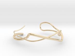 Delicate Bracelet in 14k Gold Plated Brass