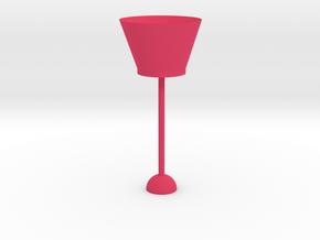 2 in Pink Processed Versatile Plastic: Large