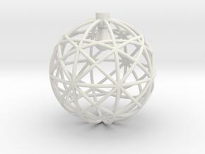 Mercury in White Natural Versatile Plastic