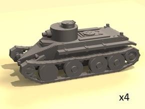 1/220 Christie T3 tank in Smoothest Fine Detail Plastic