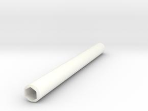 Simple Pencil Holder in White Processed Versatile Plastic