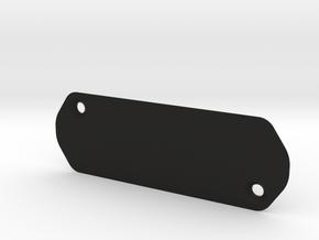 Madone etap cover plate in Black Natural Versatile Plastic