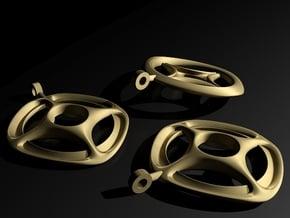 pendant ||| K ||| SERIES in Natural Brass