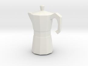 Printle Thing CoffeeMachine - 1/24 in White Natural Versatile Plastic