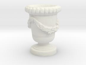 Printle Thing Garden Vase - 1/24 in White Natural Versatile Plastic