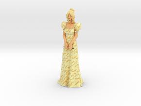 Vanilla Statue in Glossy Full Color Sandstone