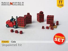 BONUS SET Cola (TT 1:120) in Smooth Fine Detail Plastic