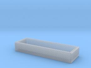 1/87 Diamond Plate Open Storage in Smooth Fine Detail Plastic