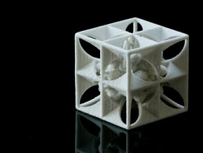 Kaleidoscopic Encapsulation in Natural Sandstone