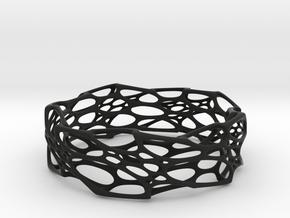 Morph Bangle in Black Natural Versatile Plastic: Small