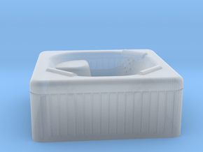 Jacuzzi Outdoor Hot Tub N-scale in Smooth Fine Detail Plastic