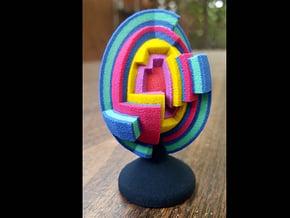 Inner Egg  in Full Color Sandstone