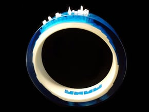 RisingTides Bracelet in White Natural Versatile Plastic
