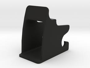 Isofix child seat fitting mount in Black Natural Versatile Plastic