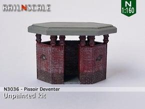Pissoir Deventer (N 1:160) in Smooth Fine Detail Plastic