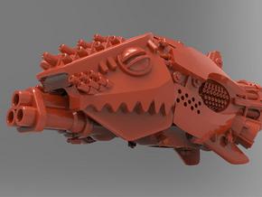 Git-Killa Battleship in Red Processed Versatile Plastic