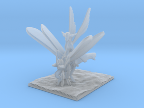 Dragonfly Knight in Smooth Fine Detail Plastic