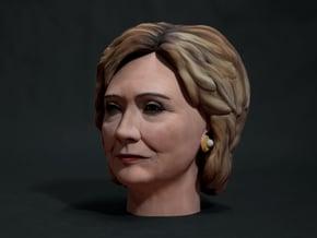 Hillary Clinton in Full Color Sandstone