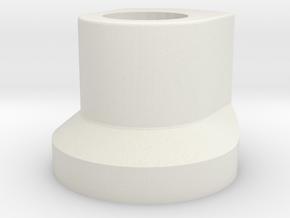 KeyMod Locking Stud in White Natural Versatile Plastic