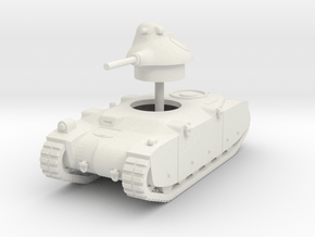 1/72 G1R French tank in White Natural Versatile Plastic