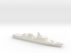 Haijing/CCG-33103 Patrol Ship, 1/1800 in White Natural Versatile Plastic