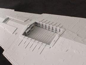 Hangar Bay for 1/2700 Revell/Zvezda Star Destroyer in Smooth Fine Detail Plastic