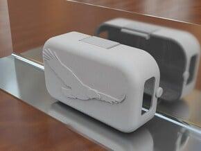 Phantom 1.5 Battery Door - Eagle in White Natural Versatile Plastic