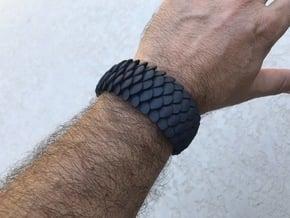 Scale 2016 Cuff Medium in Black Natural Versatile Plastic