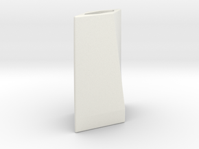 Blade Emitter in White Natural Versatile Plastic