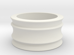 Female Adapter in White Natural Versatile Plastic