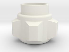 Obi-Wan Pommel in White Natural Versatile Plastic