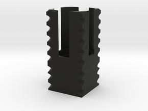 flash hider small in Black Natural Versatile Plastic