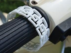Athena Bracelet in White Natural Versatile Plastic