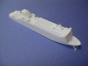 MV European Causeway (1:1200) in White Natural Versatile Plastic: 1:1200
