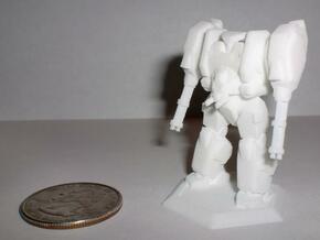 Mecha- Hunter (1/285th) in White Natural Versatile Plastic