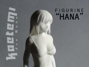 "Figurine ""Hana"" (17cm)  in White Natural Versatile Plastic"