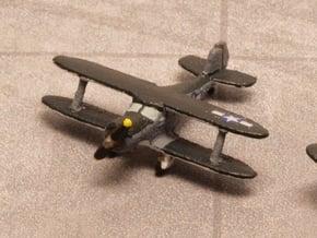 Beech UC-43 Traveler (with landing gear) 1/285 6mm in White Natural Versatile Plastic