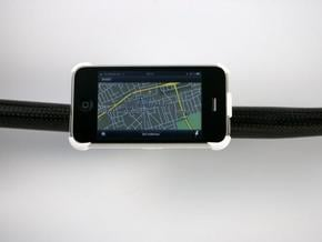 iPhone 3G / 3GS bike mount in White Natural Versatile Plastic