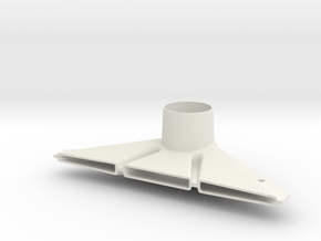 Aston Martin Air guide / short Version in White Natural Versatile Plastic