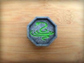 Snake Talisman in Full Color Sandstone