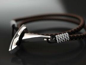 Want Tesla bracelet hook in Polished Nickel Steel